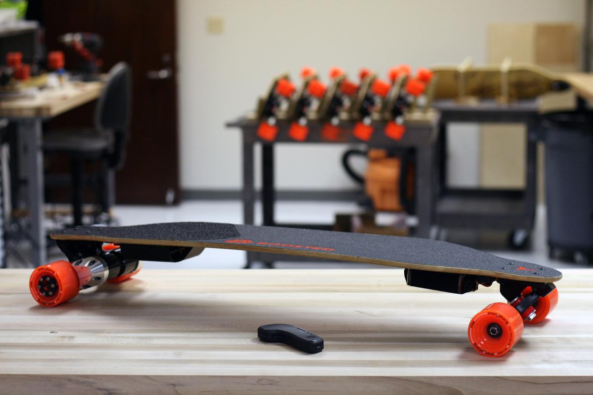A Boosted Board will set you back $1299, plus shipping and tax