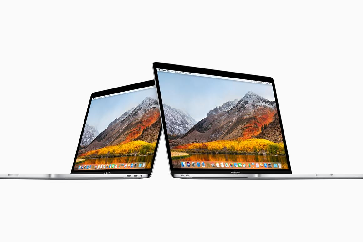 The specs upgrade affects every MacBook Pro with a TouchBar