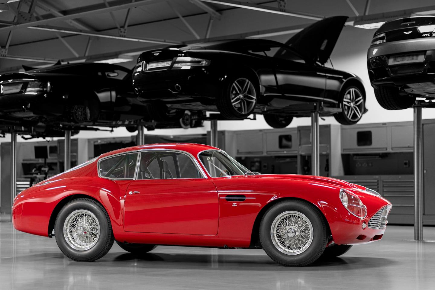 Aston Martin's DB4 GT Zagato Continuation will make its public debut at the 24 Hours of Le Mans 2019 on June 14-16