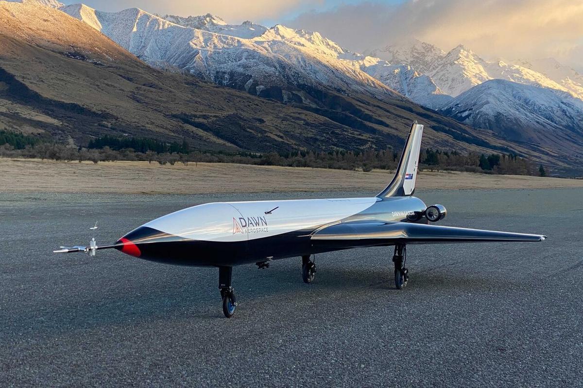 The Mk-II Aurora suborbital spaceplane is a technology demonstrator for the more advanced Mk-III