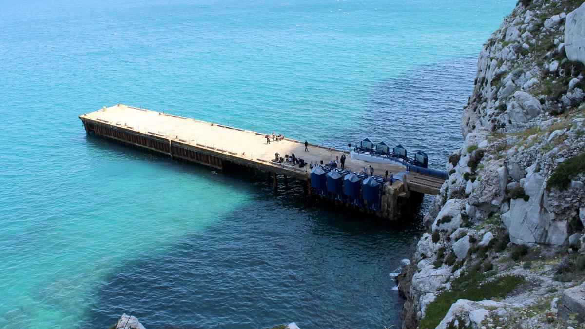 Sitting in the shadow of the famous Rock of Gibraltar, Eco Wave Power's first grid-connected station provides justa glimpse ofthings to come