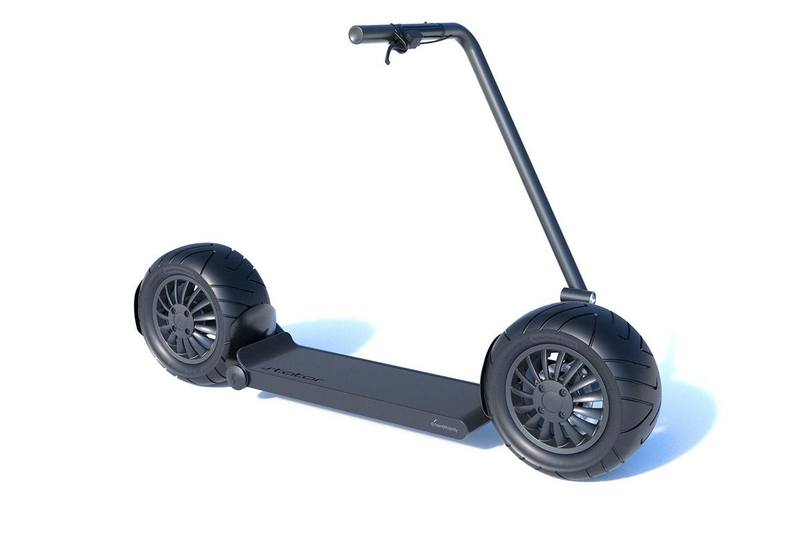 The fat-tired Stator electric scooter is due to ship in the second quarter of 2020