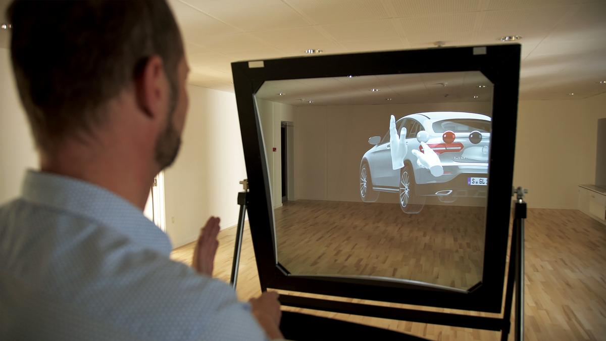 DeepFrame One offers a way to experienceaugmented reality without a headset