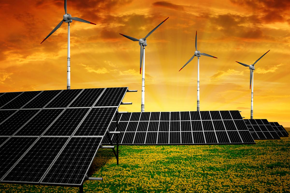 A new study claims that a municipal grid could be powered almost entirely via renewable sources (Image: Shutterstock)
