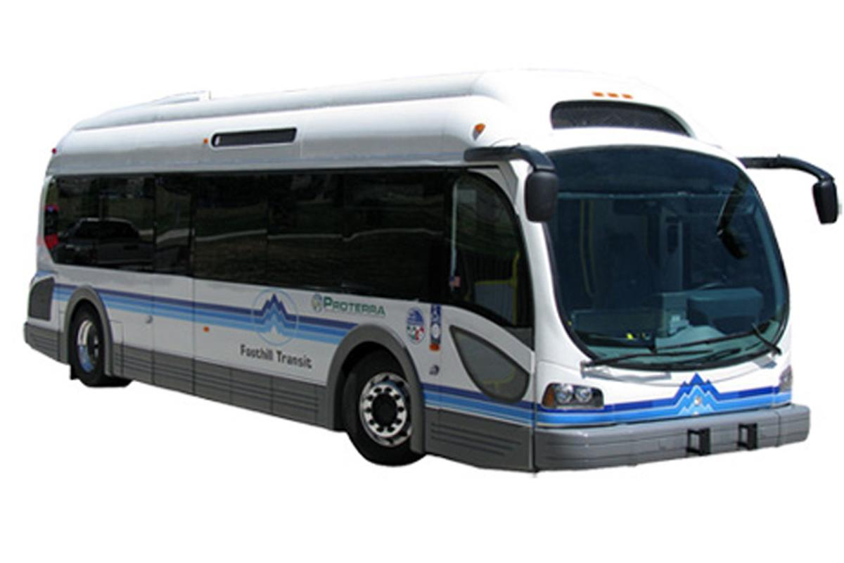 The EcoRide BE-35 all-electric bus