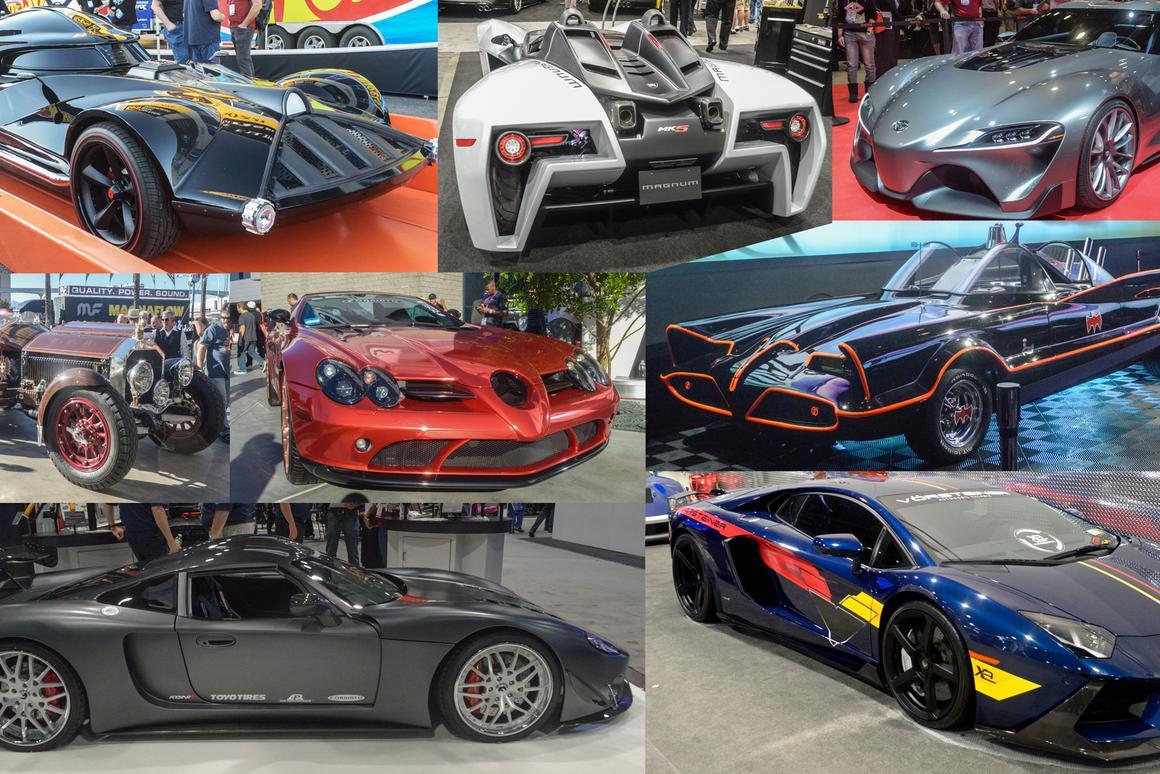 SEMA Show 2014 boasted plenty of automotive variety