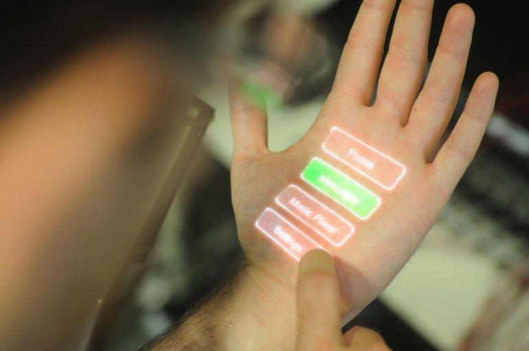 Skinput input system