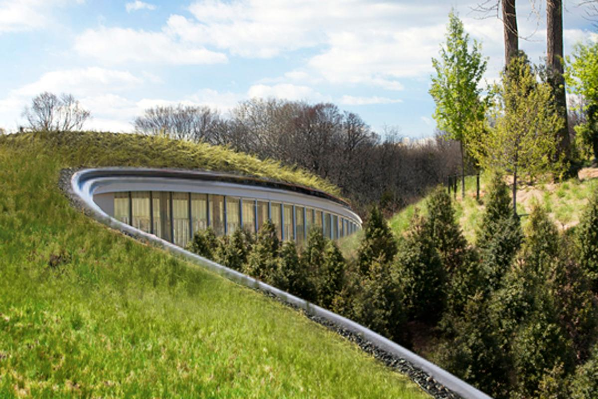 The new visitor center at the Brooklyn Botanic Gardens officially opened its doors earlier this month and includes an impressive 10,000 square foot (929 square meter) living roof