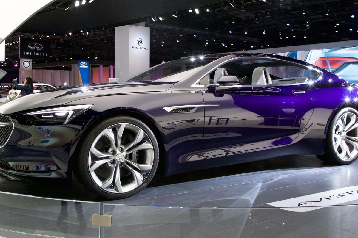 The Buick Avista on show at NAIAS 2016