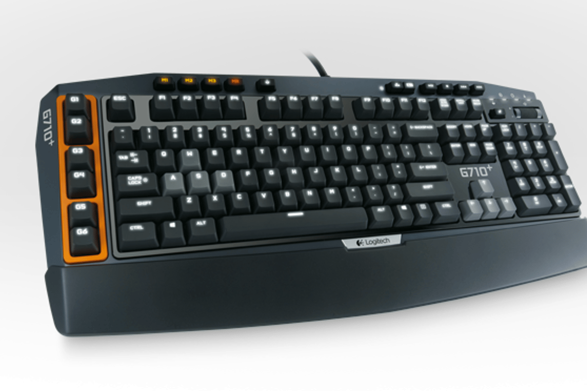 The G710+ has six programable keys on the side