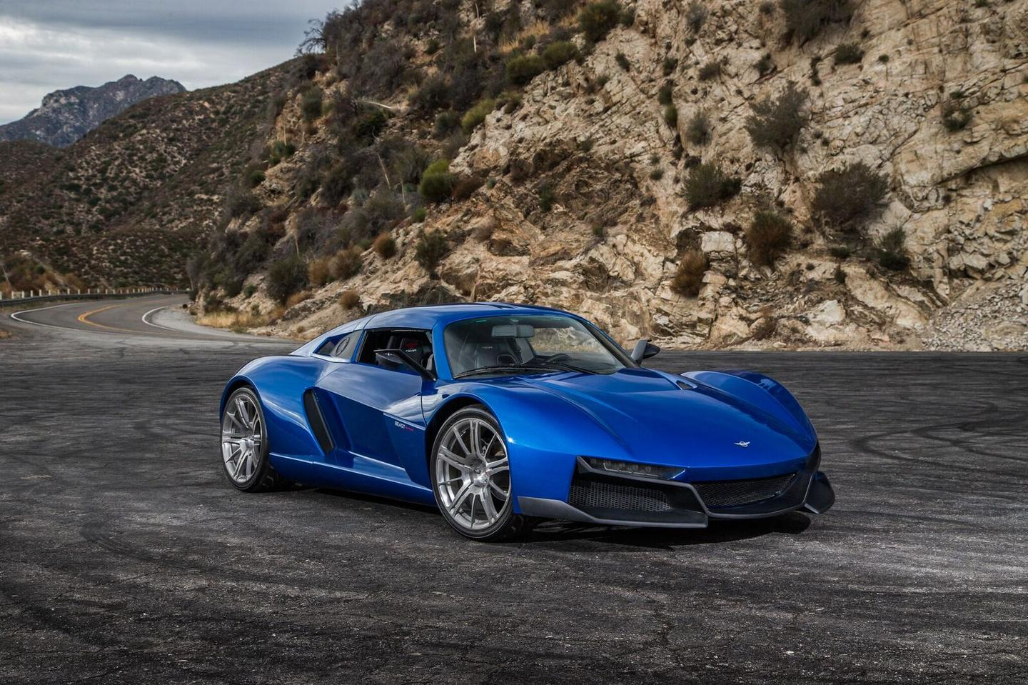 The Rezvani Beast Alpha is powered by a 2.4-liter Honda engine