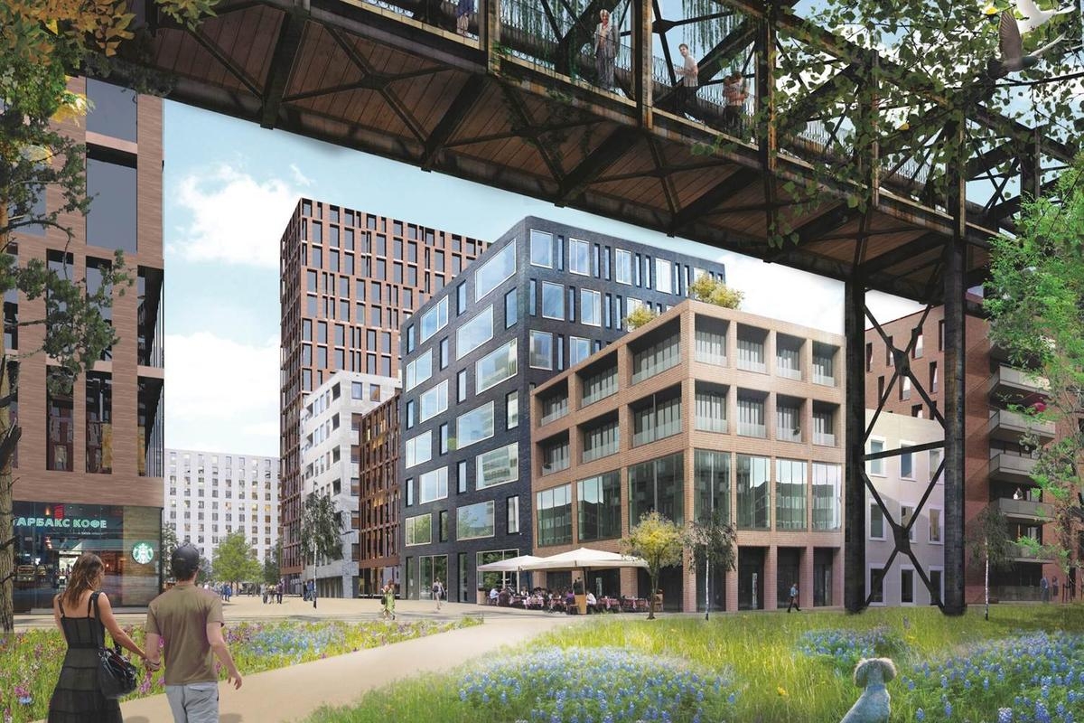 The historic Moscow Metallurgical Plant is to be redeveloped by Rotterdam-based architectural firm MVDRV (Image: MVDRV)