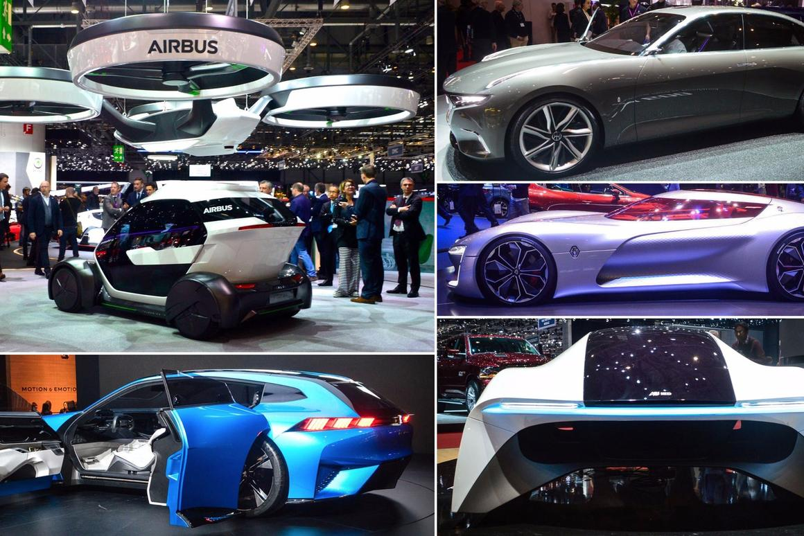 Concept cars of the 2017 Geneva Motor Show