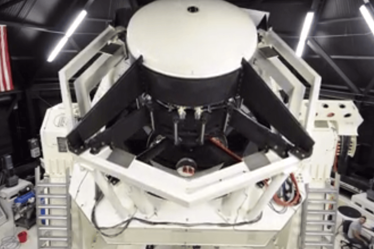 The Space Surveillance Telescope (SST) is designed to track space debris and small objects