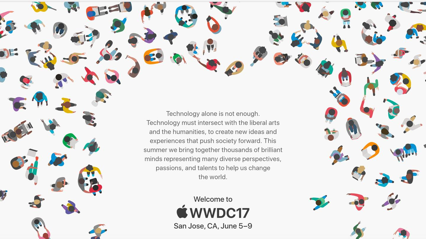 Dates for Apple's 2017 WWDC: June 5-9 in San Jose, California