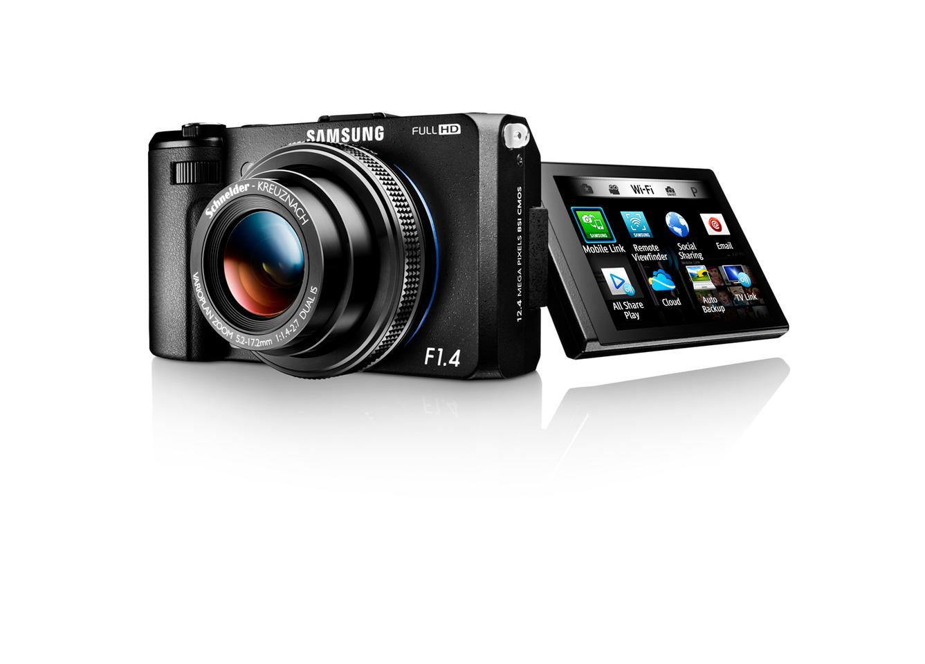 Samsung is retiring its EX1/TL500 compact camera and replacing it with the EX2F, which has built-in Wi-Fi, improved sensor and a fast F1.4 wide-angle lens