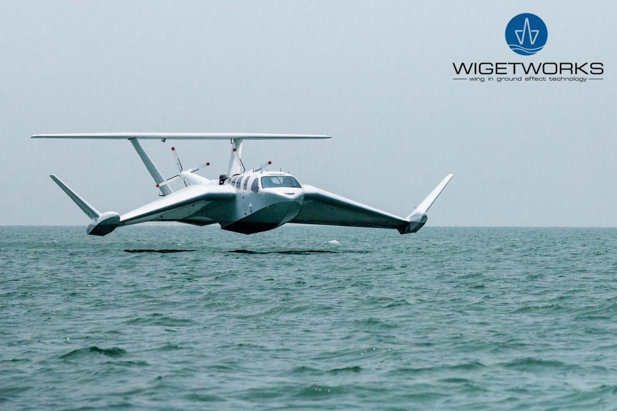 Wigetworks' Airfish-8 is another incarnation of the ground effect vehicle hoping to find commercial success