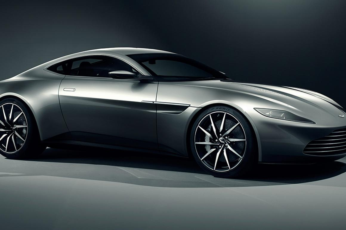 The Aston Martin DB10 was designed espcially for the latest Bond picture (Image: Aston Martin)