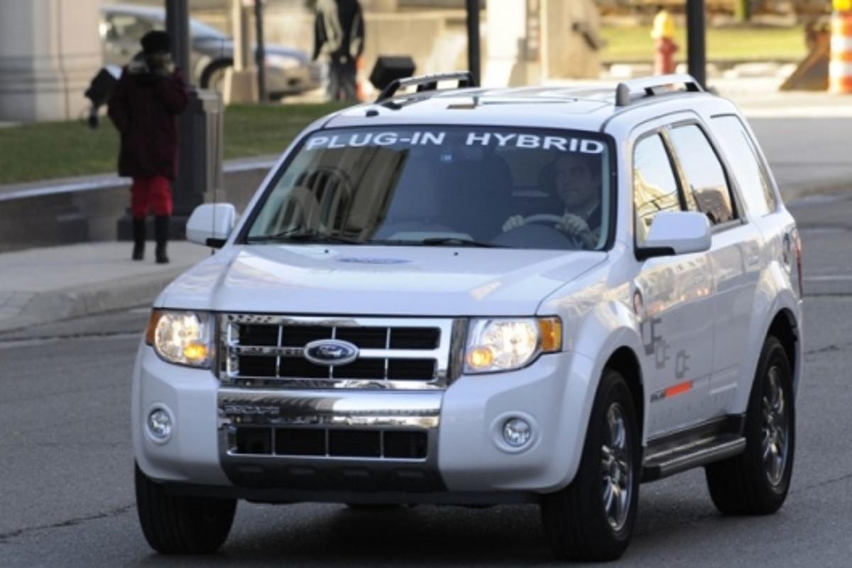 Ford plug-in hybrid Escape