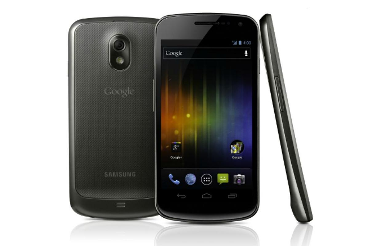 Samsung Galaxy Nexus is the world's first smartphone to run Android 4.0 (Ice Cream Sandwich)