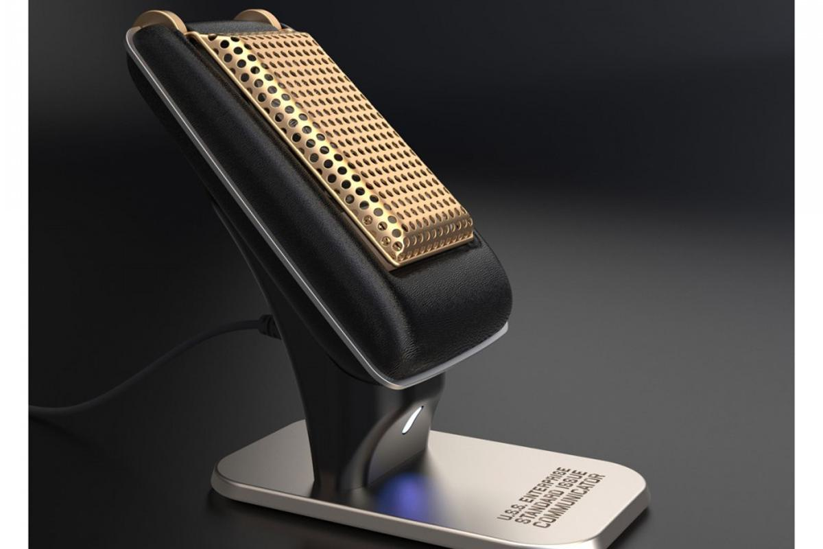 The Star Trek Communicator looks like the real thing – and it works