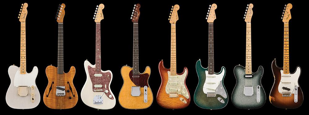 The eight Fender Custom Shop Founders Design guitars will each be limited to a production run of just 30 models