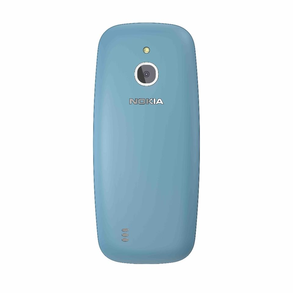 The Nokia 3310 3G will come in four colors, including blue (shown)