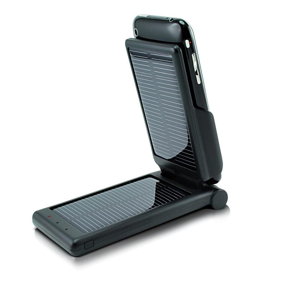 Dexim's solar-powered P-Flip power pack was launched at CES 2010