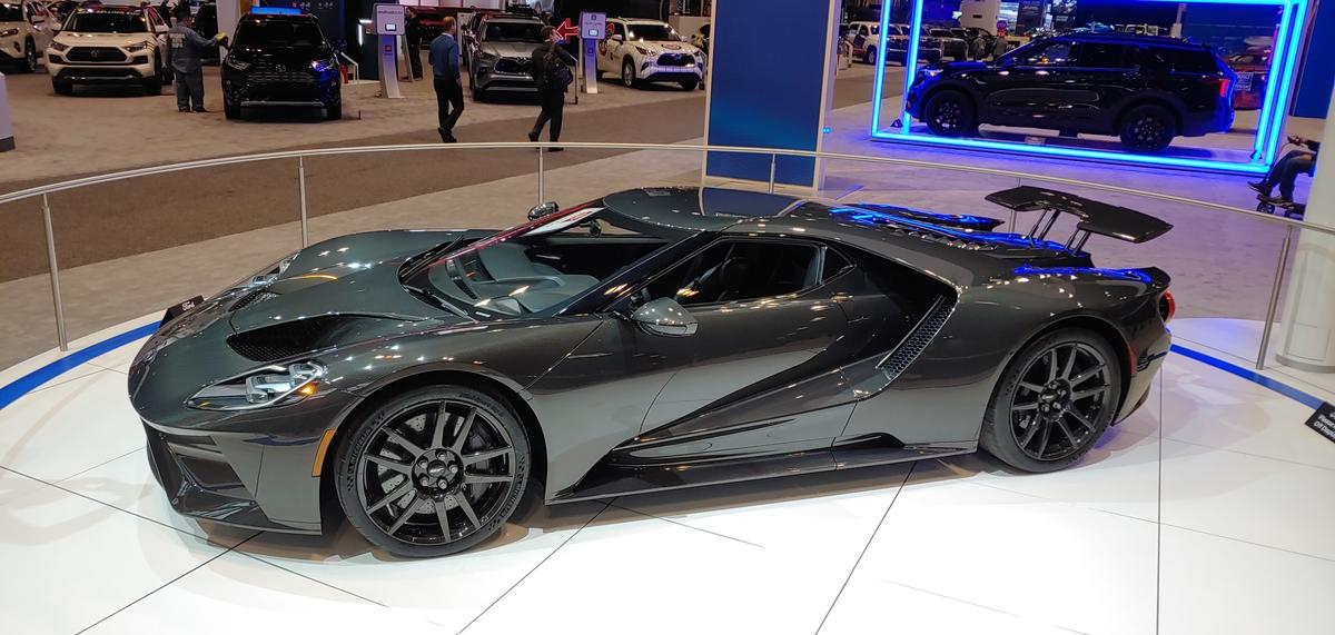 The Liquid Carbon Ford GT