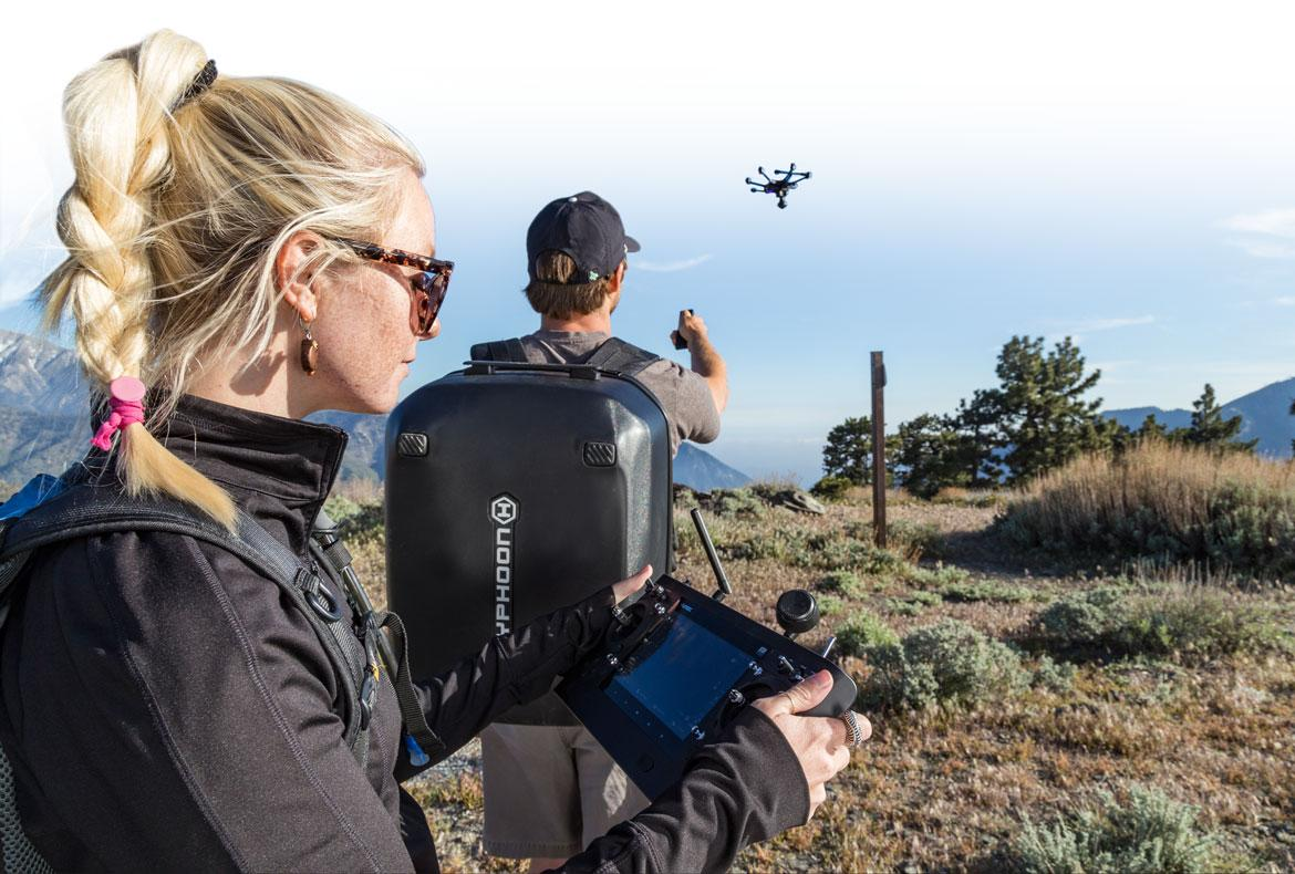 Yuneec claims that the Intel RealSense Technology onboard the Typhoon H Pro is a big improvement on some earlier obstacle avoidance solutions
