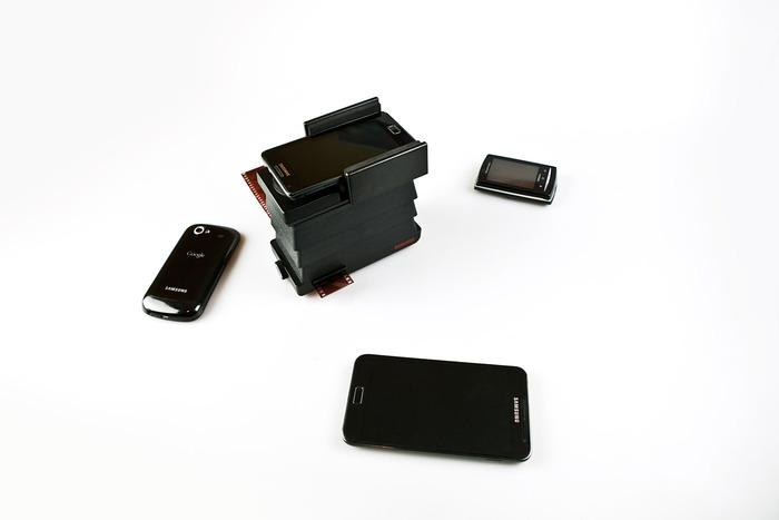 The scanner itself is designed to work with all iPhones, and most Android phones