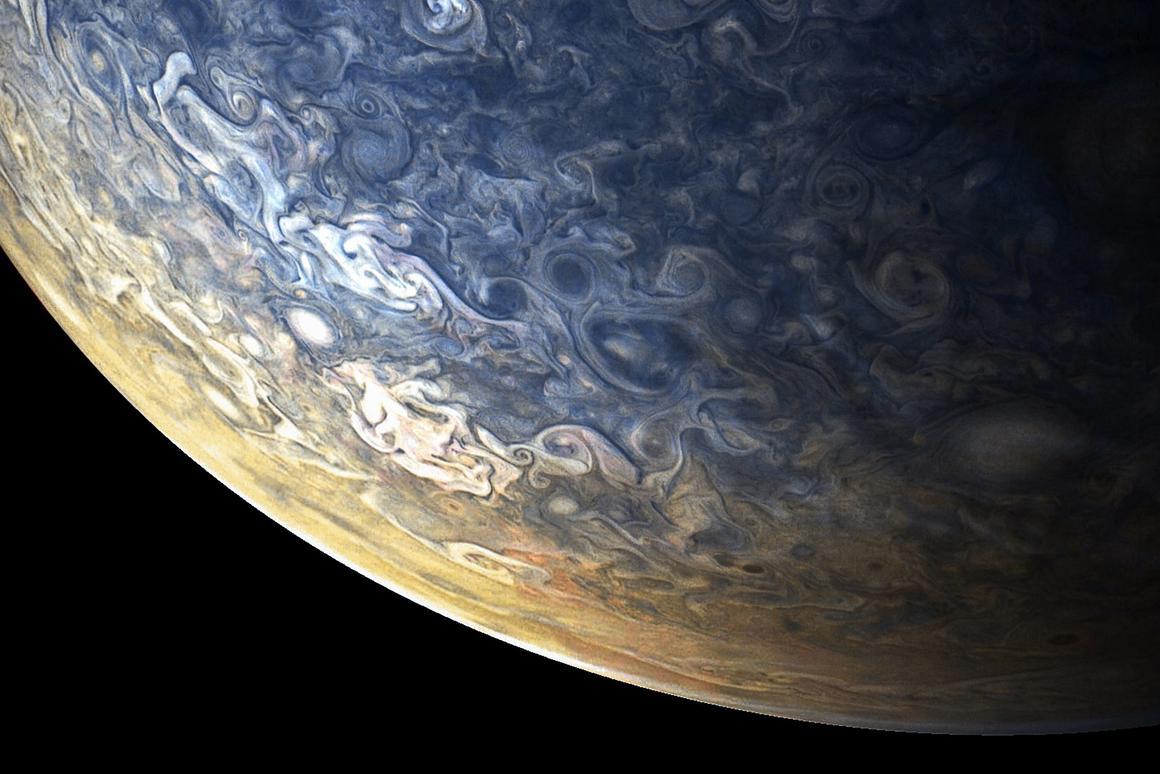 Juno takes 53 days to orbit Jupiter