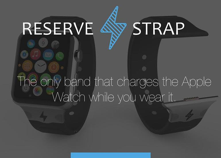 The Reserve Strap promises a 125 percent battery boost (Photo: Reserve Strap)
