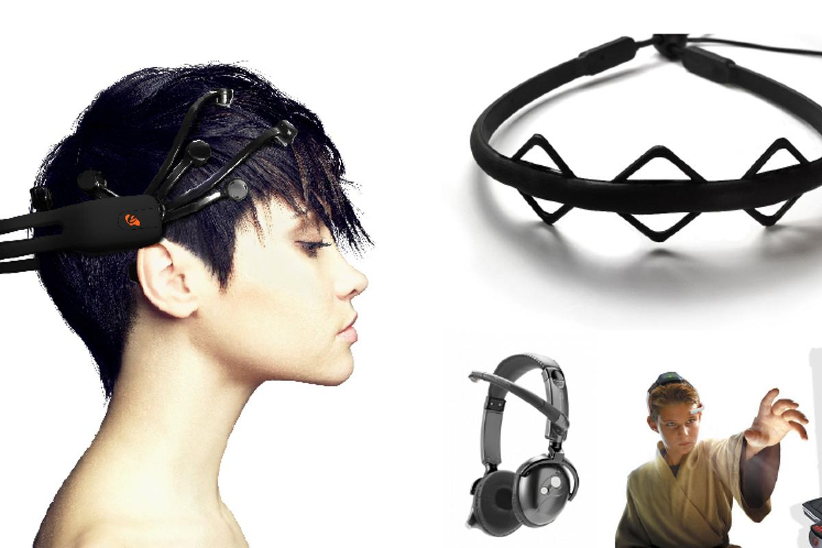 EEG brainwave headsets have potential applications ranging from medicine to gaming and market research
