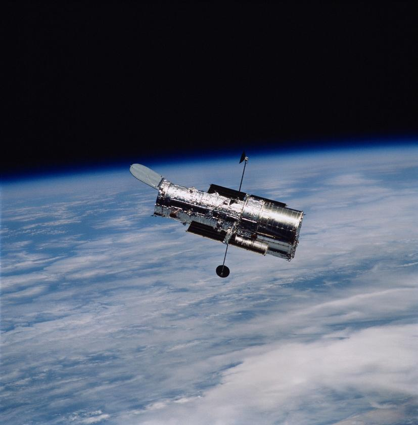 Hubble was the first major optical telescope to be launched into space