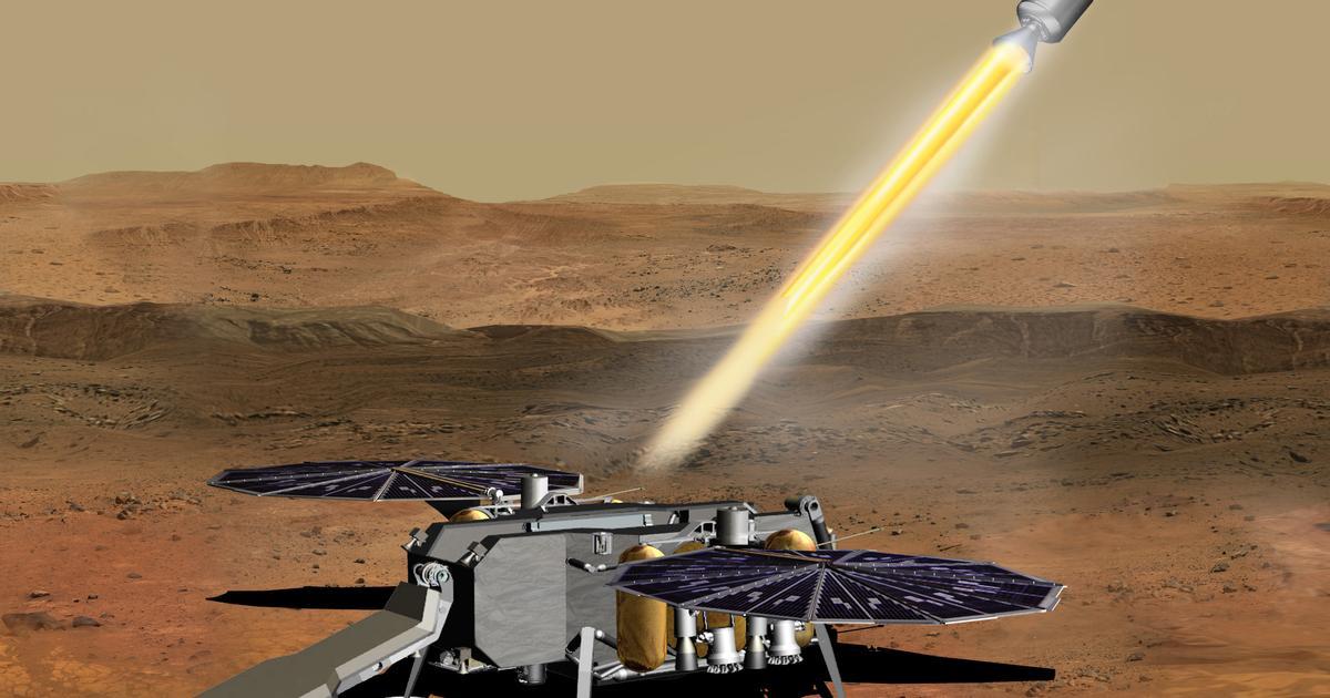 Northrop Grumman to build propulsion system for Mars Ascent Vehicle
