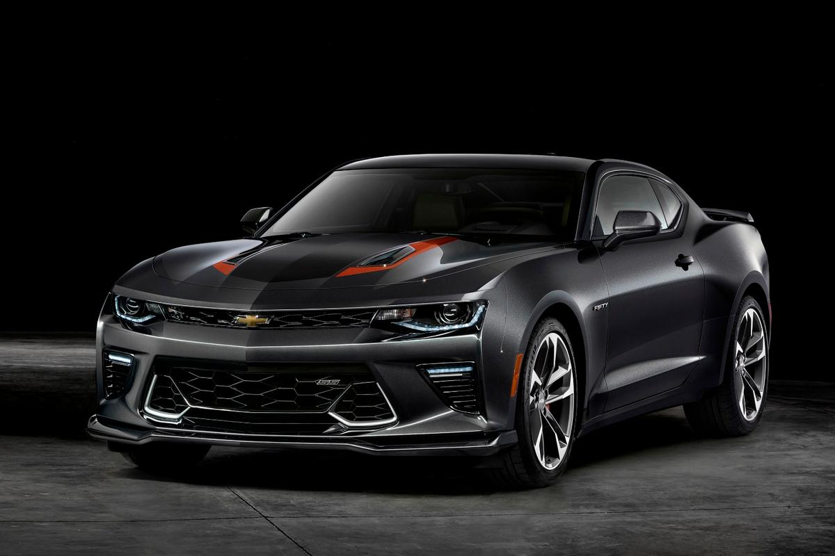 The Camaro 50th Anniversary gets unique styling and a tweaked interior