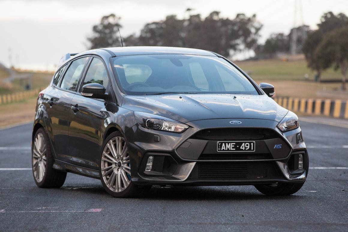 Track time and driver training in the Ford Focus RS