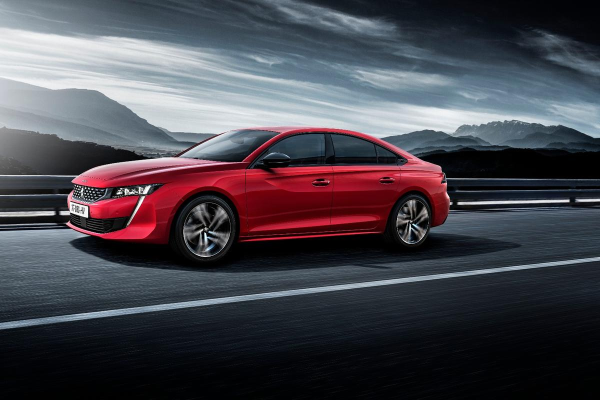 The Peugeot 508 will be available to order from summer 2018