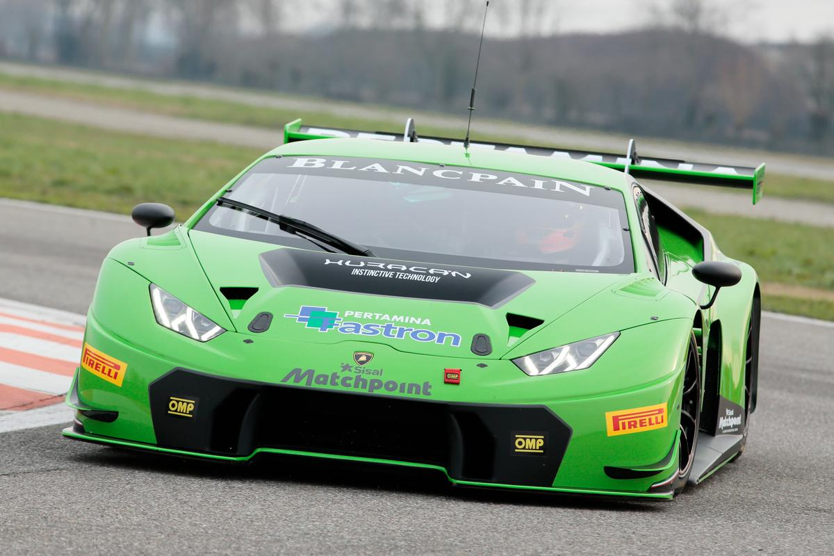 The Blancpain Endurance Series kicks off in April and the Lamborghini Huracan GT3 will be joining the action