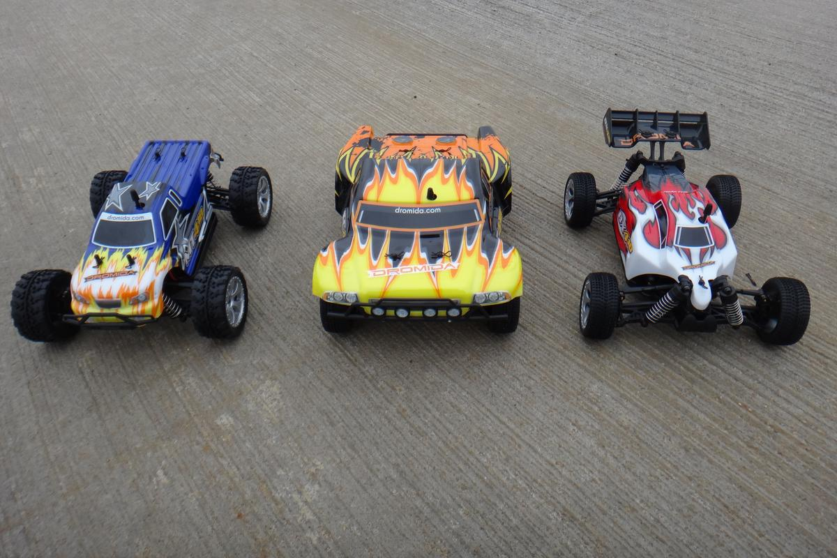 Gizmag reviews the entire Dromida line of remote-controlled cars and trucks