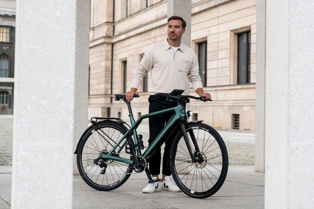 The Storck Cyklaer is available in three models, including the E-Urban pictured here