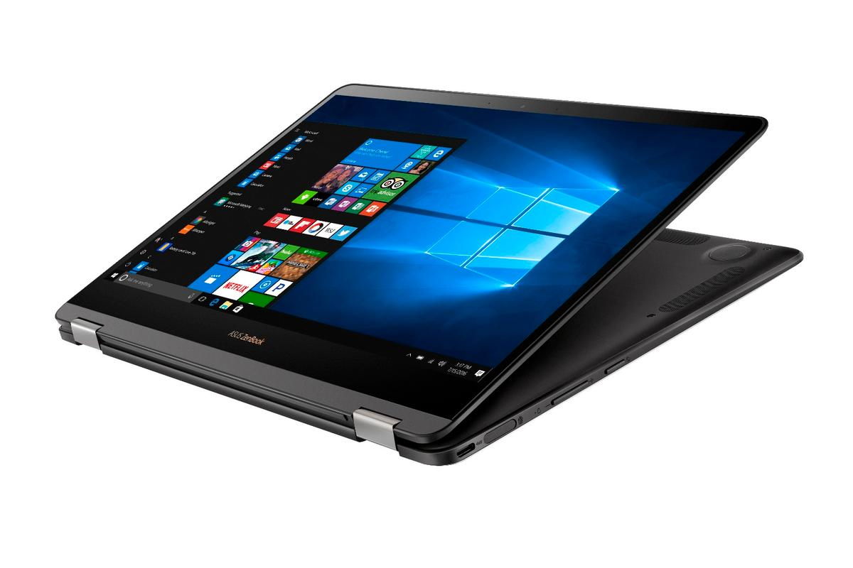 The new Asus ZenBook Flip S takes the world's thinnest Windows 10 convertible title, at just 10.9 mm thin