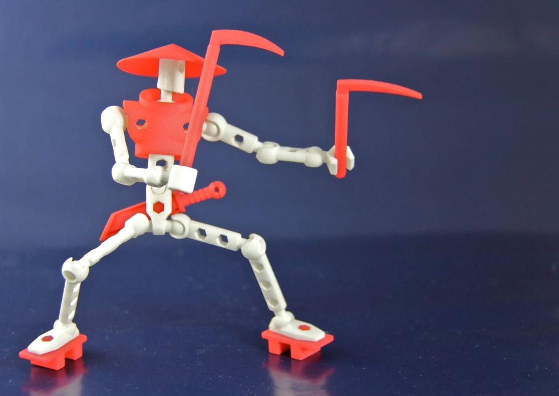ModiBots can be modified with more than 700 parts (Photo: Wayne Losey)