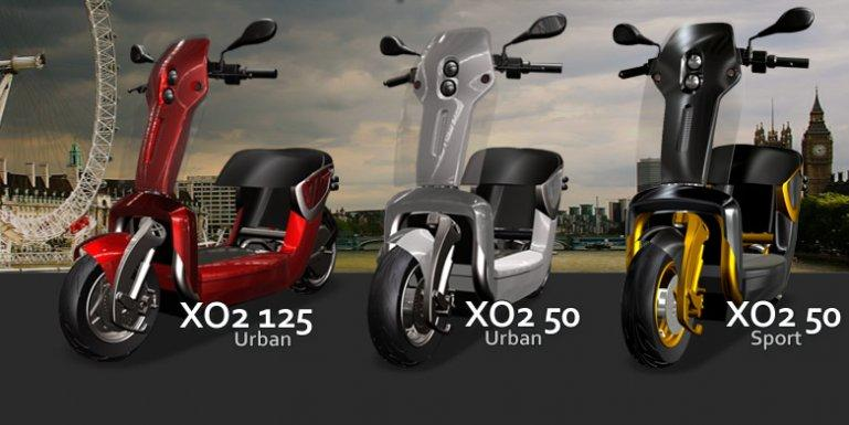 The XO2 folding scooter: a photo of it folding would be nice!