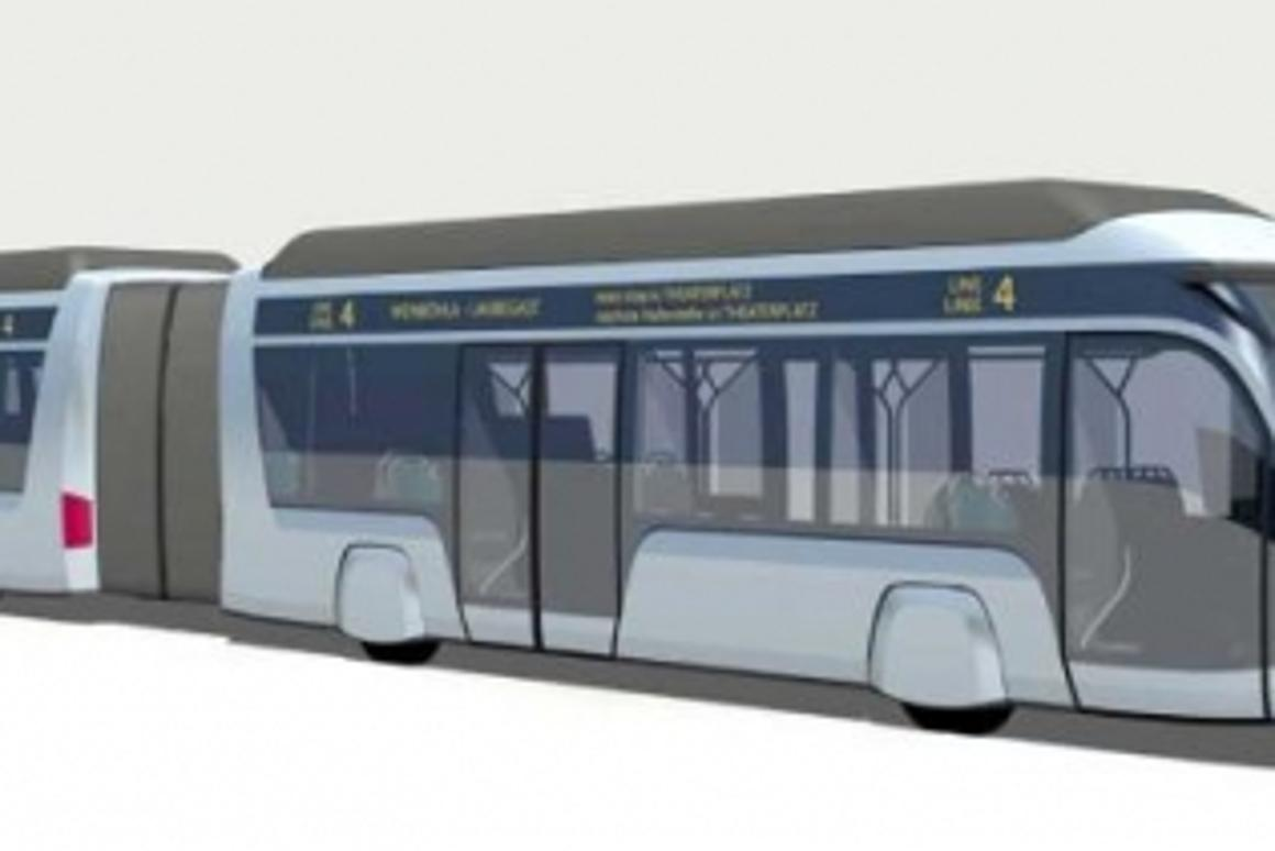 The latest Autotram prototype