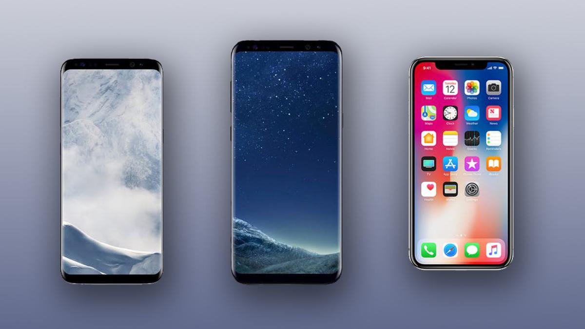 New Atlas compares the specs of Samsung's current flagships, the Galaxy S8 and S8+, with the newly-announced Apple iPhone X