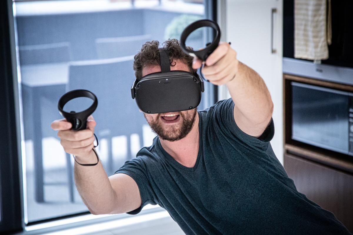 New Atlas's Michael Irving gets jiggy with the Oculus Quest