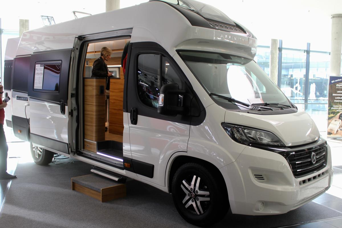 Affinity debuts its new camper van at CMT 2020