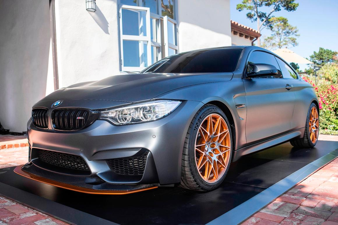 The BMW Concept M4 GTS debuts at Pebble Beach Concours d'Elegance 2015